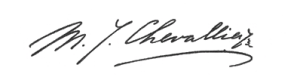 chevallier-handtekening